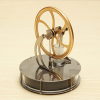 STEM Discovery Toys Low Temperature Stirling Engine Model Educational Toy Gift For Kid Children Adult