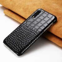 Étui en cuir véritable pour Redmi note 8 8 pro note4X Mix2 Max3 Pocophone F1Luxury housse de protection antichute pour xiaomi 9 8 K20 20 Pro
