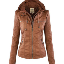 Европейский и американский стиль; модная женская кожаная куртка на молнии с длинными рукавами и отложным воротником