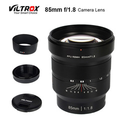 VILTROX 85mm f/1.8 Full-Frame Manual Fixed focus lens Fixed Focus F1.8 Lens for Camera Sony NEX E A9 A7M3 A7R Fujifilm FX-mount