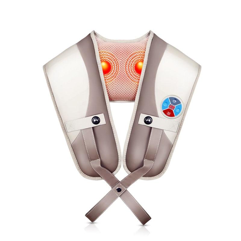 Cervical Vertebra Massager Multifunction Massage Shawl Neck Waist Shoulder Neck Beat Household Shawl Shoulder Knocking Massage