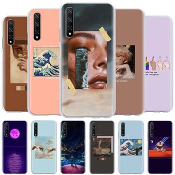 Перейти на Алиэкспресс и купить Чехол для телефона Huawei Honor 8X 9X 8A 9A 9S 9C 10i 20i 10 20 Lite 30 Pro 20s 30s, Жесткий Чехол