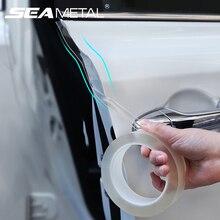 סגנון מדבקות לרכב מלא רכב גוף מגן סרט חיצוני פנים דלת תא מטען מדבקת מותגים מגן ויניל קלטות אבזרים