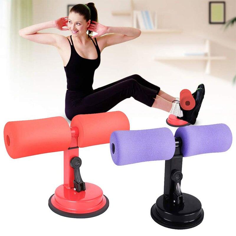 CviAn Fitness Tragbare Sit-Up-Bar Sauger Bauch Sit-Ups Assistent Ger/ät r Tragbare verstellbare Sit-Up-Bodenstange Tragbare Selbstsaug-Situp-Stange