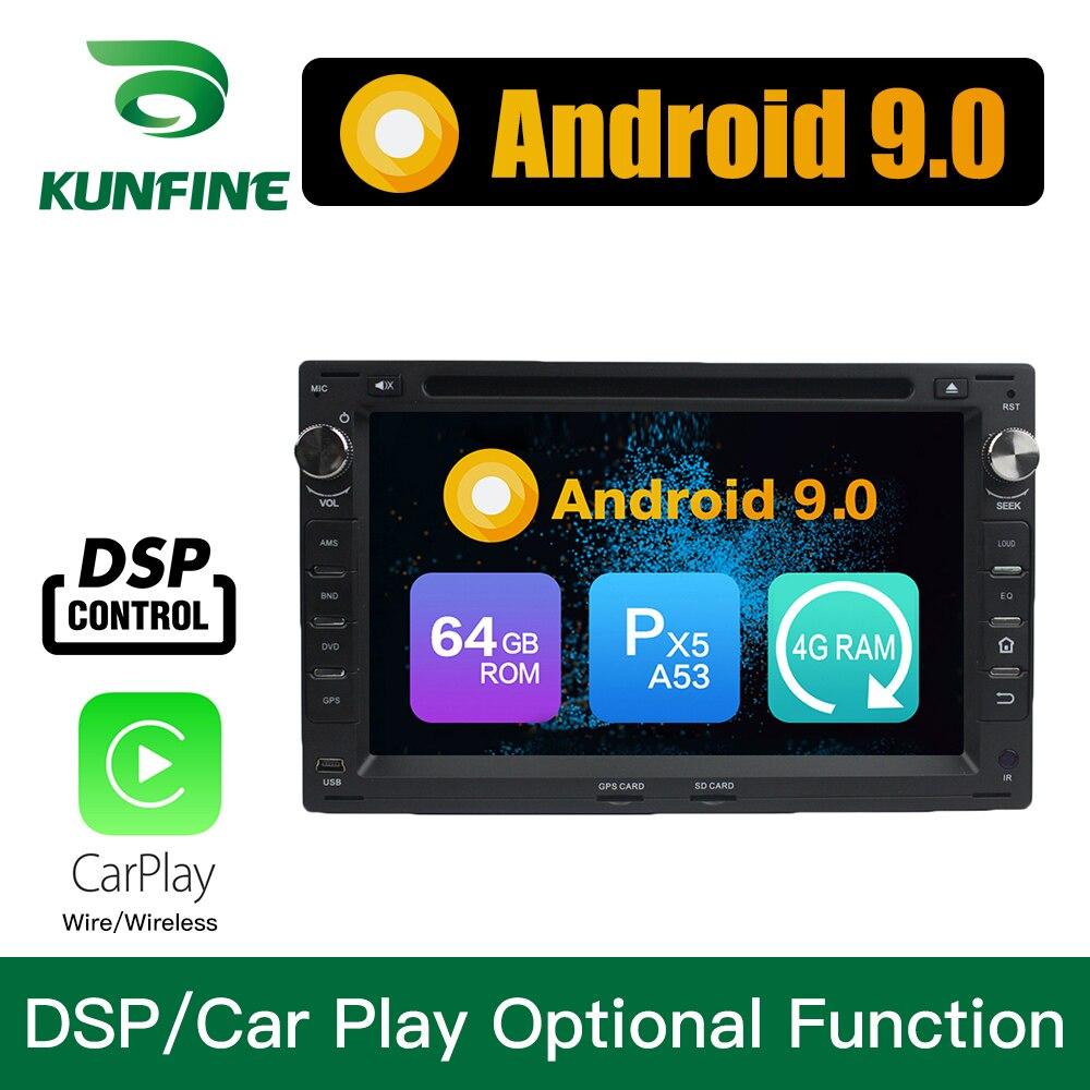 Android 9.0 Octa Core 4GB RAM 64GB Rom Car DVD GPS Multimedia Player Car Stereo for VW Passat B5 1998 2005 Radio Headunit WIFI