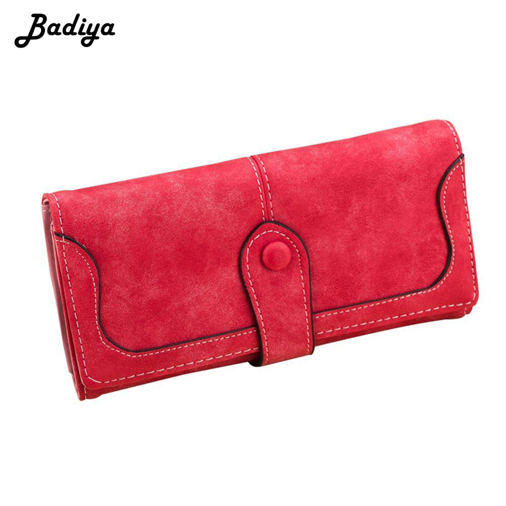 2020 Women's Wallet PU Leather Fashion Vintage Long Hasp Zipper Clutch Bag Multi Slots Card Holder Ladies Coin Purse Phone Bag