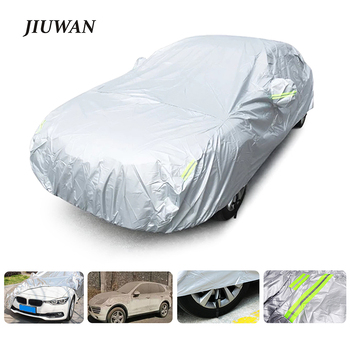 Universal Car Covers Size S/M/L/XL/XXL Indoor Outdoor Full Auot Cover Sun UV Snow Dust Resistant Protection Cover For Sedan SUV car covers size s m l xl waterproof full car cover sun uv snow dust rain resistant protection gray free shipping