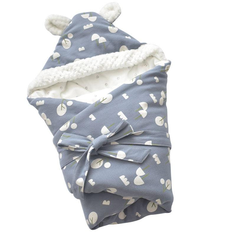 MOTOHOOD Winter Baby Blankets Newborn Swaddle Muslin Swaddle Baby Wrap Warm Baby Blanket Cotton Stroller Blankets  (7)