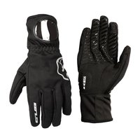 Gub S079 Full Finger Mountain Bike Gloves Shock Absorber Bicycle Double Finger Touch Screen Warm Gloves With Watch Window