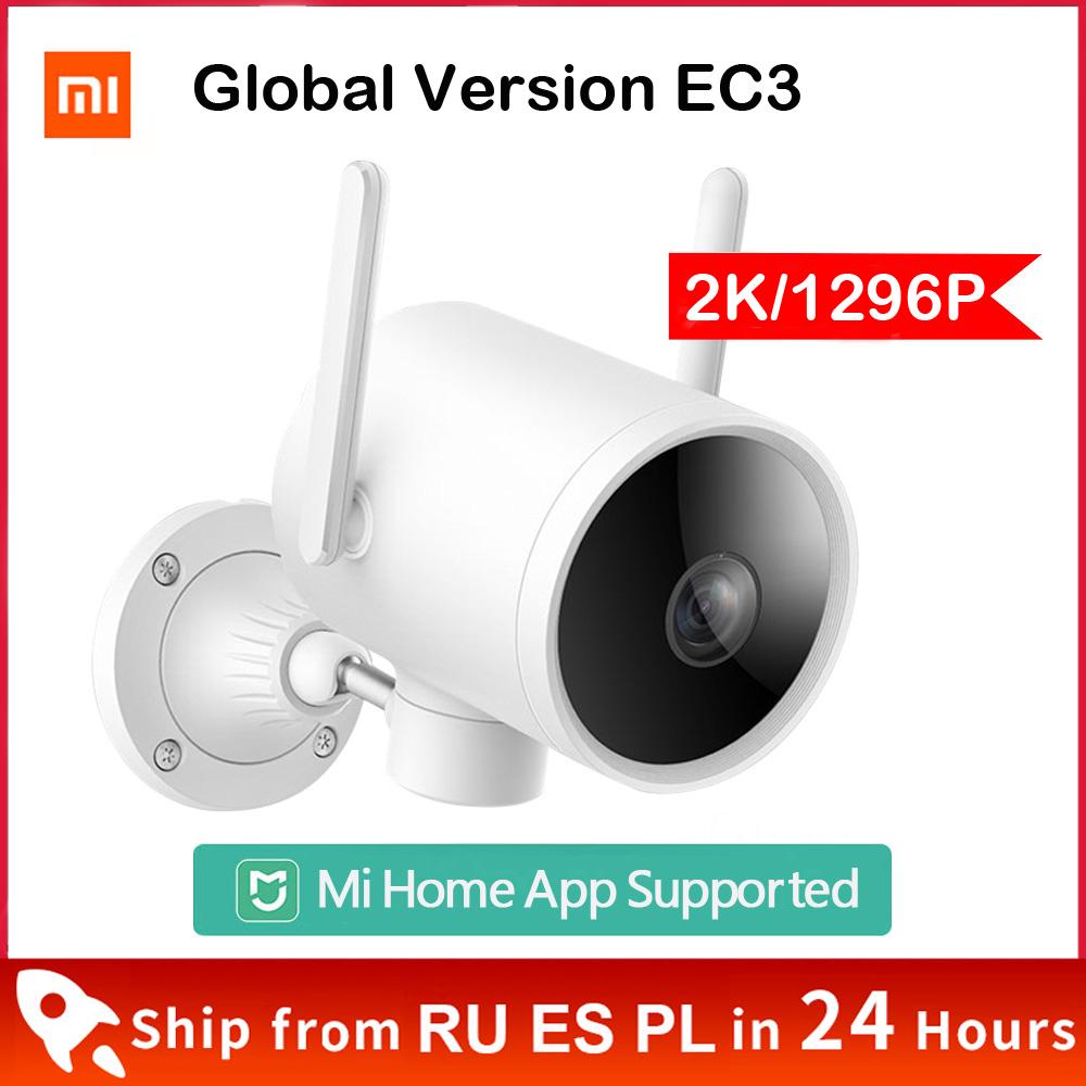 Xiaomi Smart Outdoor Camera 2K 1296P Global Version Waterproof IP66 WIFI Webcam 270 Angle IP Camera Dual Antenna Signal Mi Home