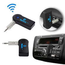 3.5Mm Wireless Bluetooth AUX Audio Stereo Musik Rumah Mobil Receiver Adaptor Mic(China)