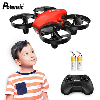 A20 Mini Dron Altitude Hold Headless Mode 2.4G RC Drone Quadcopter RTF Helicopter For Children Kids Gift With Propeller Guards