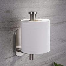 Toilet Paper Holder White Wall Mounted Stainless Steel Roll Organizer Bathroom Tissue Durable  Kitchen