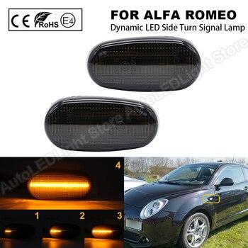 Luz LED dinámica para Alfa Romeo Mito 147 GT Fiat Bravo, luz...