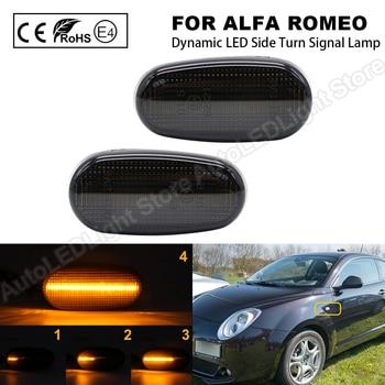 Luz LED dinámica para Alfa Romeo Mito, luz LED de posición lateral,...