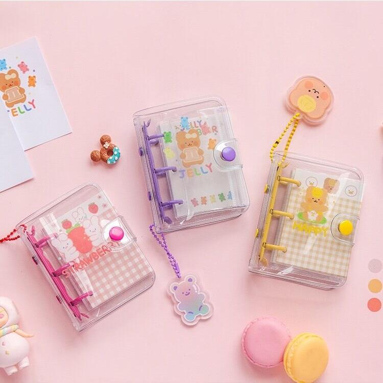 Kawaii Cute Mini Pocket Loose-leaf Diary Notebook Stationery