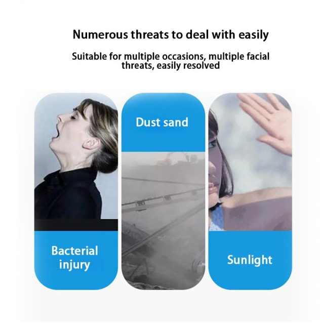 Y Adult children Anti Virus Hat Anti Epidemic Anti Bacteria Dust Cap Can Be Matched With Anti Virus Disposable N95 Mas 3