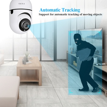 Fuers 1080P IP Camera Tuya Smart Surveillance Camera Automatic Tracking Smart Home Security Indoor WiFi Wireless Baby Monitor 2