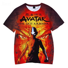 Comic t-shirt fashion anime t-shirt cartoon t-shirt casual cool avatar street clothing t-shirt couple hip hop top tee male