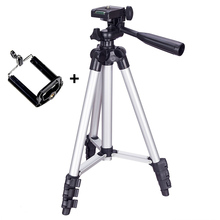 Tripod Mount Stand Set With Phone Holder Clip For Smartphone Telescopes Digital Go-Pro Camera GT66