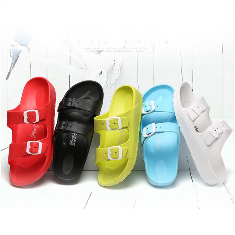 Women Slippers New Arrival 2020 Fashion Outdoor Slides Ladies Comfortable Non-slip Home Slipper Indoor Casual Shoes 33-43