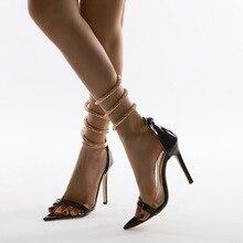 Women's high heels 2020 new fashion wild stiletto high heel sandals women trendy iridescent color and stiletto heel design sandals for women