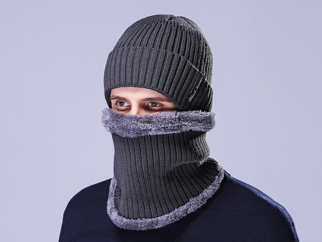 Invierno gorros bufandas cálidos