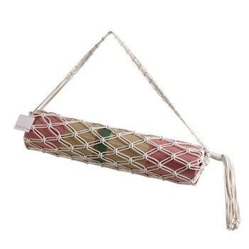 Модная сумка для Йоги из макраме (6 вариантов) ручной работы