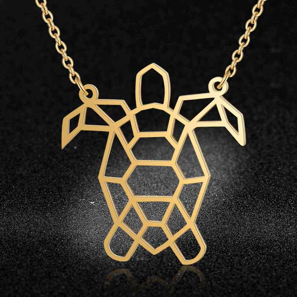Unique Sea Turtle Necklace LaVixMia Italy Design 100% Stainless Steel Necklaces for Women Super Fashion Jewelry Special Gift