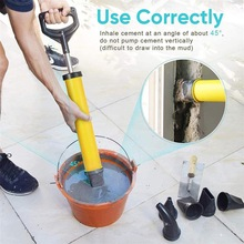 High Quality Caulking Gun Cement Lime Pump Grouting Mortar Sprayer Applicator Grout Filling Tools With 4 Nozzles