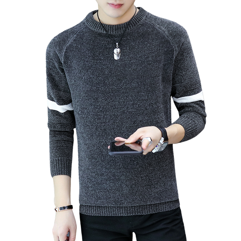 Knitted Winter Sweater Men Coat Pullover Men Sweater Winter Mens Sweaters For 2019 Autumn New Man Pull Clothes XXL