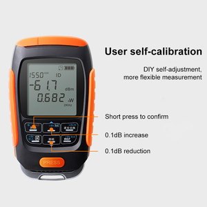 Image 3 - ONTi 4in1 Li lion Battery Optical Power Meter Visual Fault Locator Network Cable Test Optical Fiber Tester 5km 15km 30km VFL