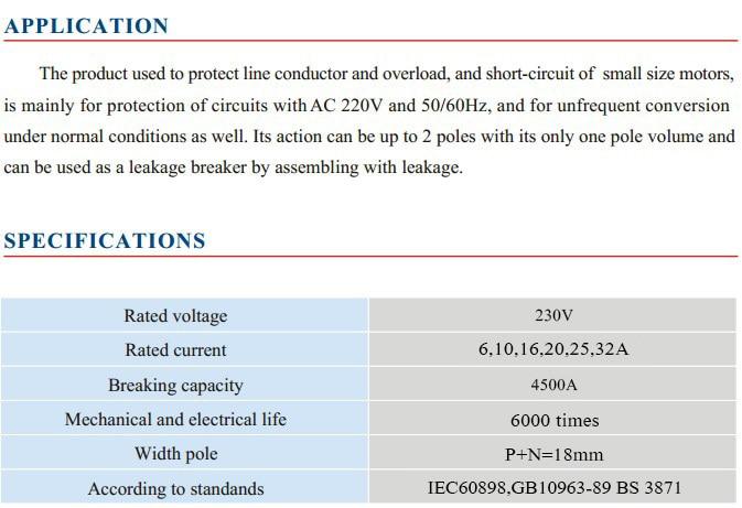 He91e2da7975740d58fa122838f4a3136T - DZ30-32 DPN 1P+N Mini Circuit Breaker MCB 6A 10A 16A 20A 25A 32A Din Rail Mounting Cutout Miniature Household Air Switch OEM DIY
