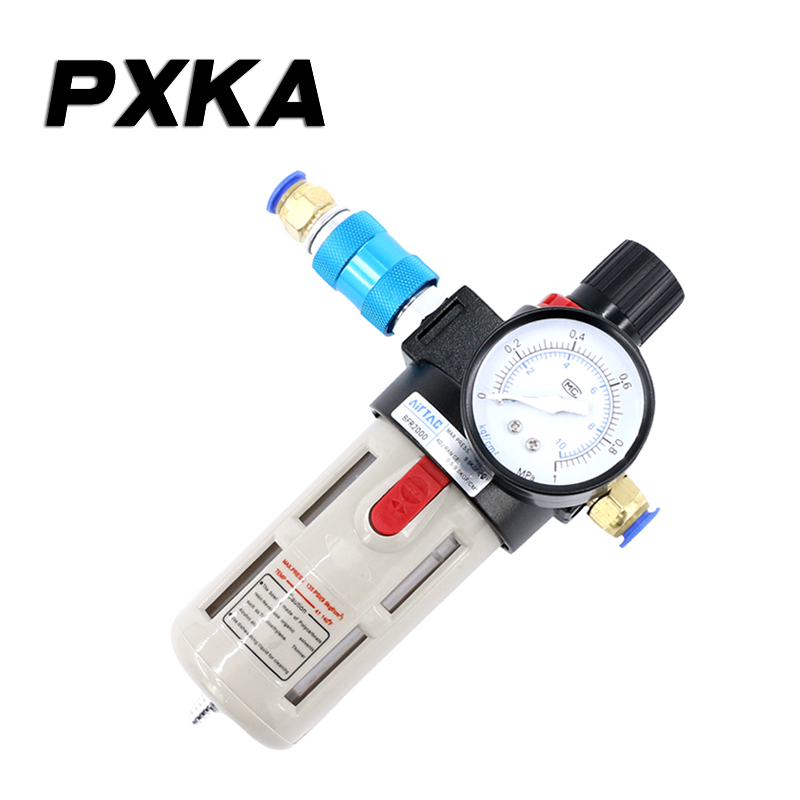 Free shipping Air compressor oil-water separator <font><b>BFR3000</b></font> air pressure regulating valve air pressure reducing valve BFR4000 image