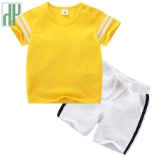 Toddler Boys Clothing Cotton casual Children Summer kids tra