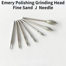 Emery Grinding Head /400-1200 Mesh Fine Sand Grinding Head /J Needle Jujube Olive Needle Diamond Grinding Head