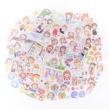 330 pçs/lote kawaii papelaria adesivos desenhos animados meninas diário planejador decorativo móvel adesivo scrapbooking diy artesanato adesivo