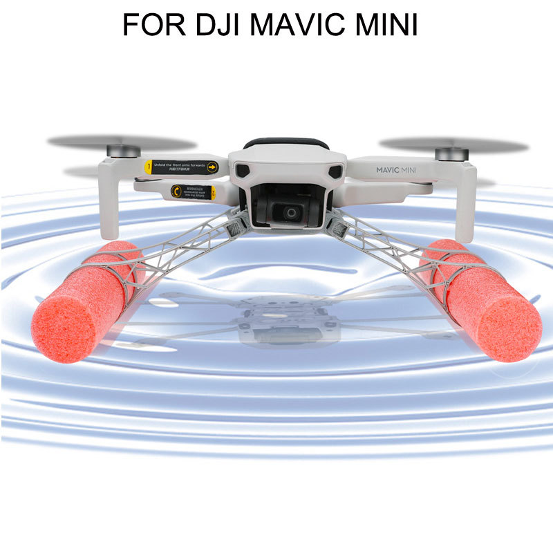 Quadcopter Water Floating Kit PLA Landing Gear Skid Extension for DJI Mavic Mini