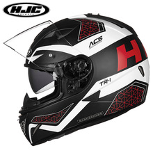 HJC мотоциклетный шлем полное покрытие для мужчин и женщин TR-1 мотоциклетный спортивный гоночный шлем четыре сезона двойной объектив полный шлем
