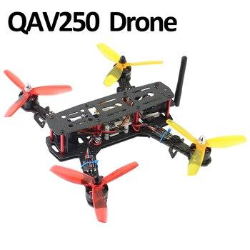 QAV250 juego de carreras de 4 ejes de fibra de carbono Drone MT2204 2300KV Motor SoloGood 20A ESC SP3 controlador de vuelo B3 cargador 5045 Prop PDB