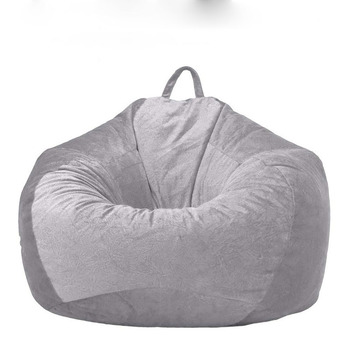 Soft Bean Bag Covers Sofa Chair Without Filling Lounger Seat Bags Puff Couch Home Living Room Lazy - discount item  40% OFF Home Furniture