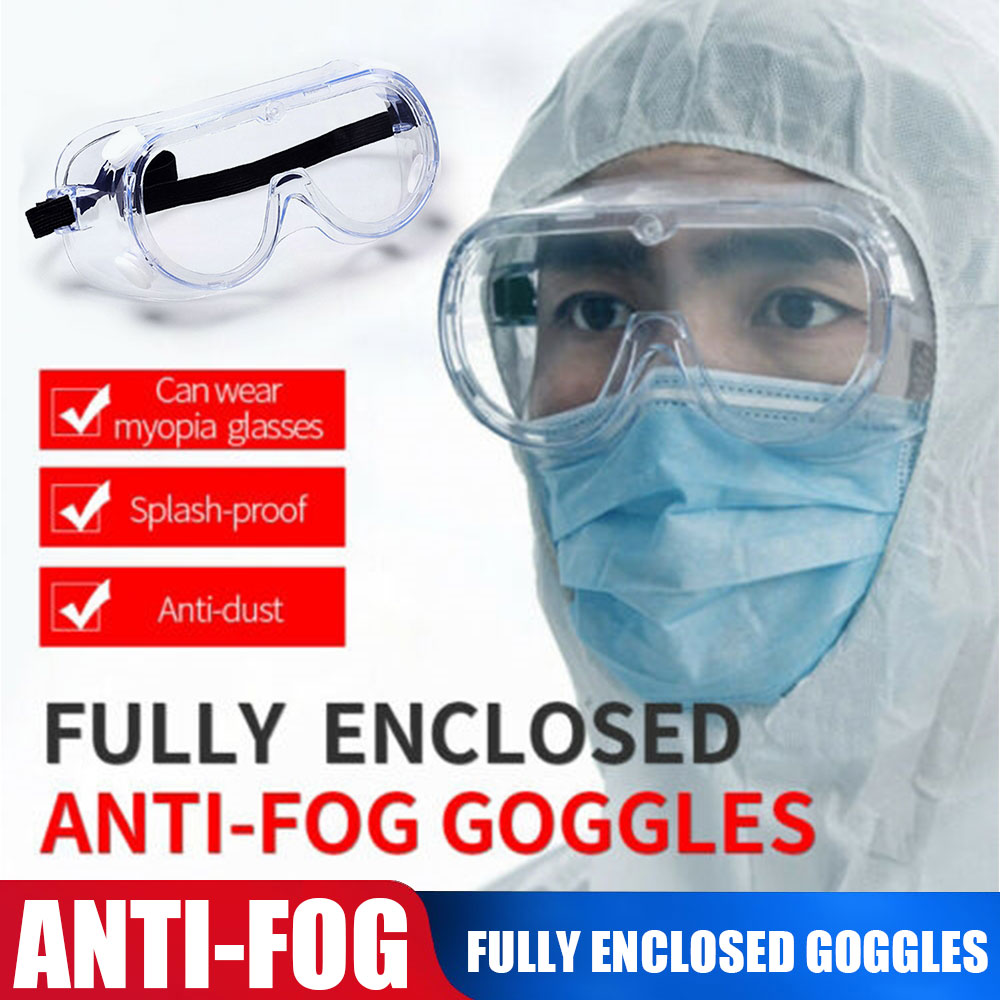 Safety Glasses Anti-Fog PC Lens Goggles Anti-fog Windproof Riding Protective Glasses Working Eyewear Motorcycle Outdoor