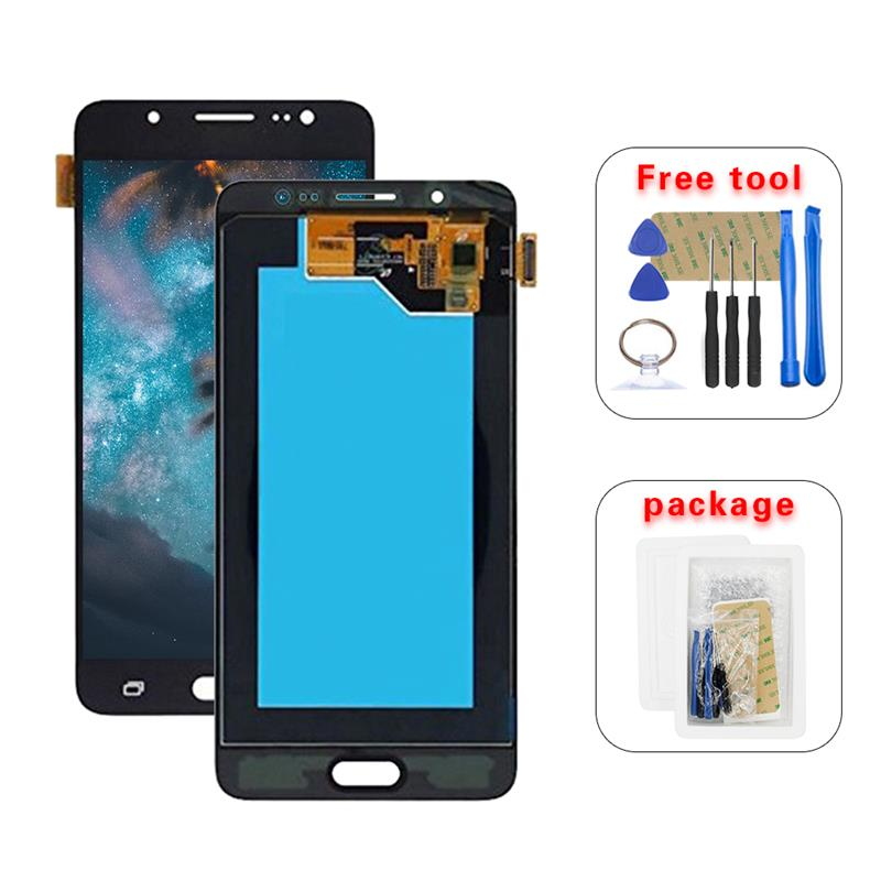 For Samsung Galaxy J5 2016 J510 AMOLED LCD <font><b>Display</b></font> Touch Screen <font><b>J510FN</b></font> J510F J510M J510H /DS Assembly +Tools image