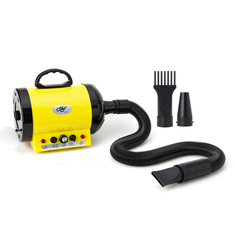 2200W High-Power Pet Hair Dryer Infinitely Variable Low Noise Anion Technology Dog Blower Cat Bath Drying Hair Blowing Machine