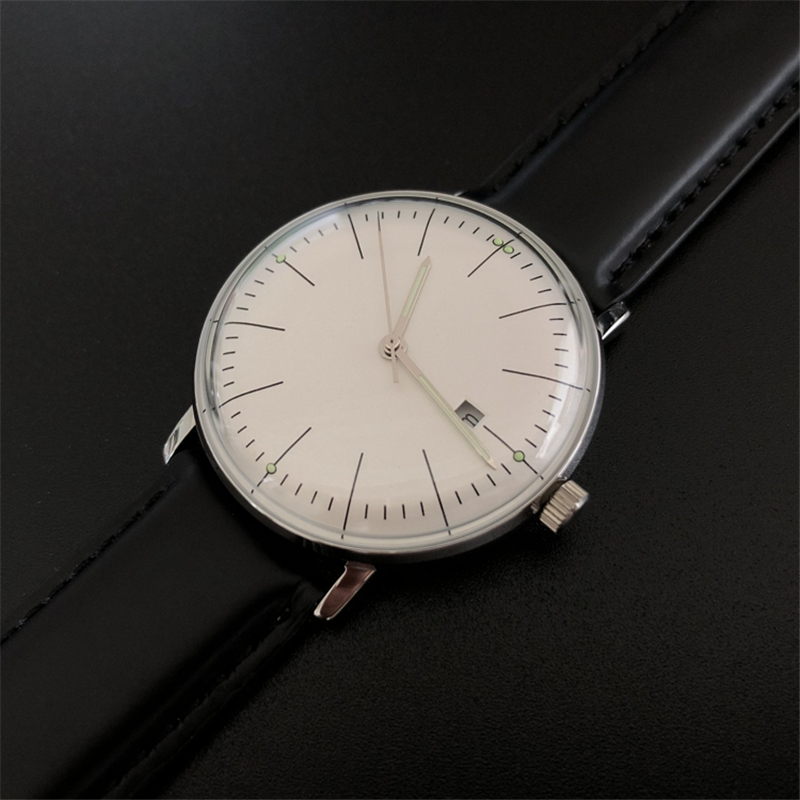 Nova Moda Relógio concisa 316L 50M À