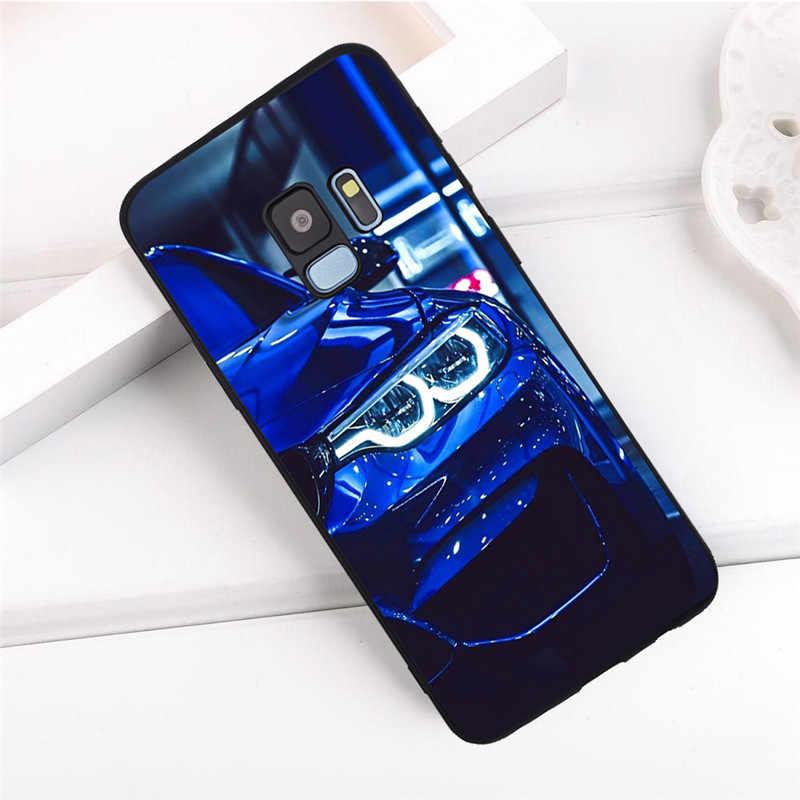 Araba Samsung Galaxy S6 S7 Kenar S8 S9 S10 Artı Lite Not 8 9 10 A30 A40 A50 A60 a70 M10 M20 telefon kılıfı Kapak funda lüks çocuk