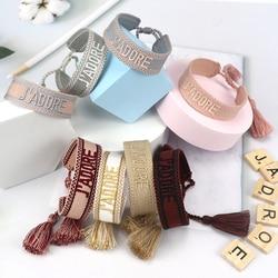 NEW Women Men Charm Bracelet Friendship Bracelets Handmade Braided Bangle Adjustable Length Fit All Wrists
