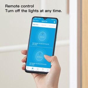 Image 2 - Zemismart新デザインジグビー 3.0 プッシュライトスイッチsmartthings制御米国au物理壁スイッチプッシュボタンインタラプタ