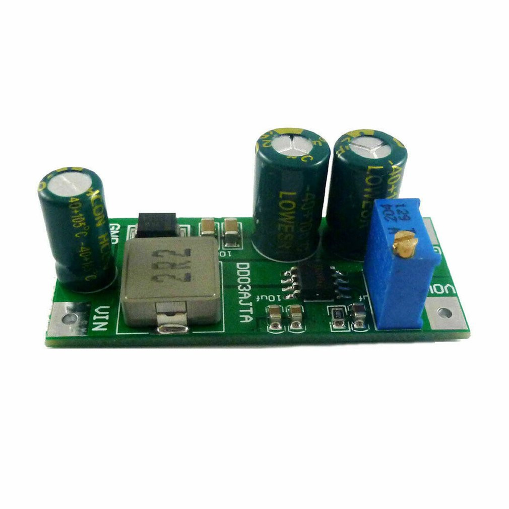 6A High-Power Dc 2.7-5.5V-3.5V To 24V Boost Step-Up Converter Module For Li-Ion Lipo Uvlo Ptz Ip Camera Motro Plc Led