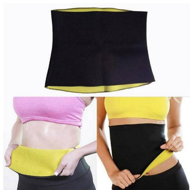 2019 New Fitness Women Slimming Waist Belts Neoprene Body Shaper Training Corsets Cincher Trainer Promote Sweat Bodysuit 1